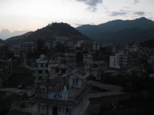 Sunset over Kathmandu
