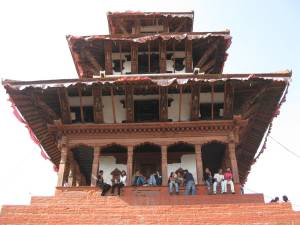Temple in Durbar Square
